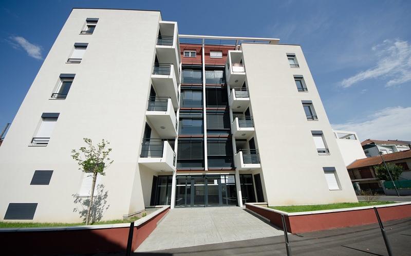Résidence Arts campus 1 façade