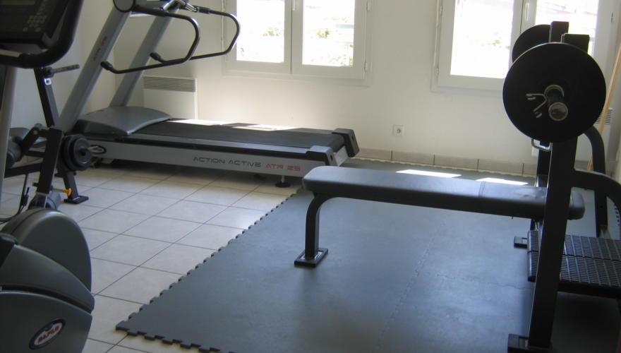 Salle fitness en accès libre