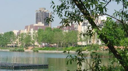 La résidence - Vue alentour - Lac de Créteil