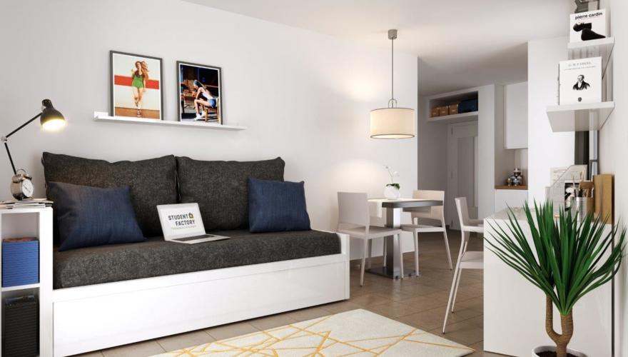 Appartement T2 - Séjour