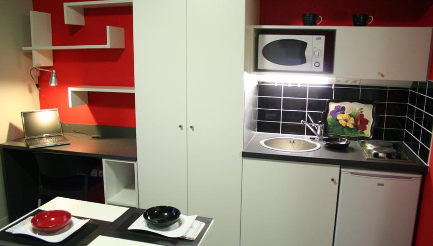 vue cuisine/bureau