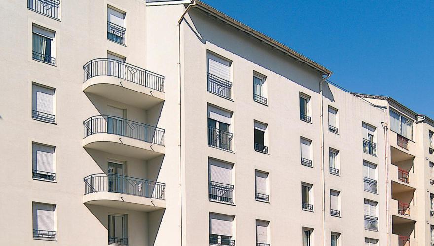 reésidence façade