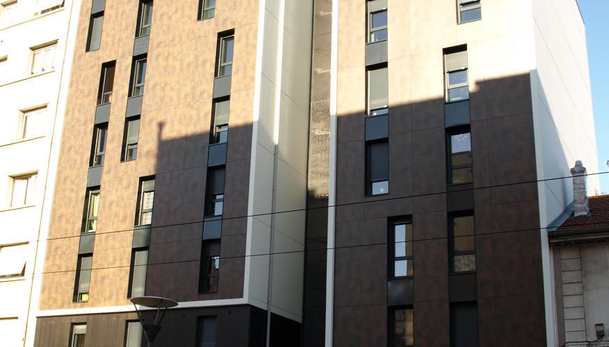 La résidence - Côté rue