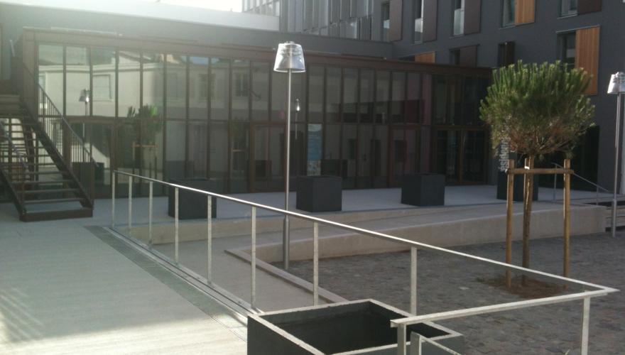 Montecristo - Cour intérieure