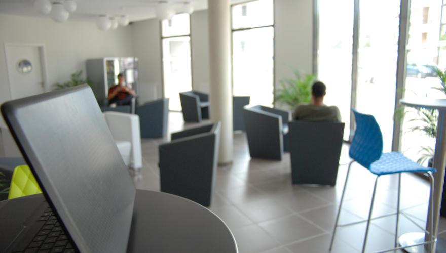 Connexion Wi-Fi dans l'espace détente