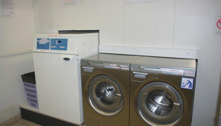 la laverie à votre disposition