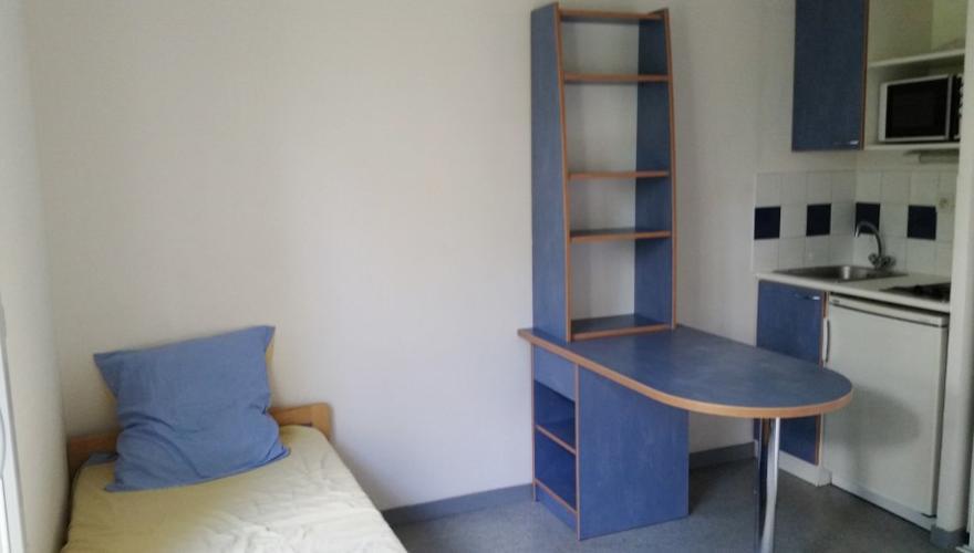 studio 22 m² séjour