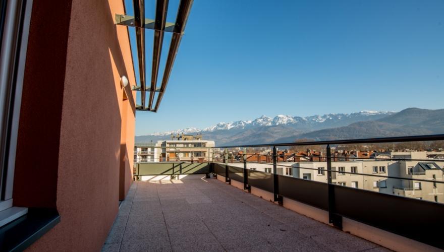 Vue terrasse T1