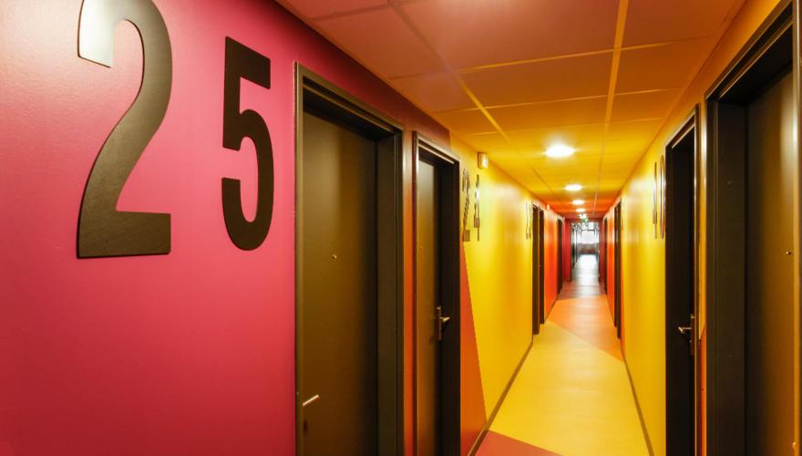 Couloir de la résidence