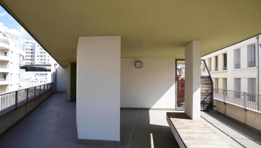 Terrasse commune