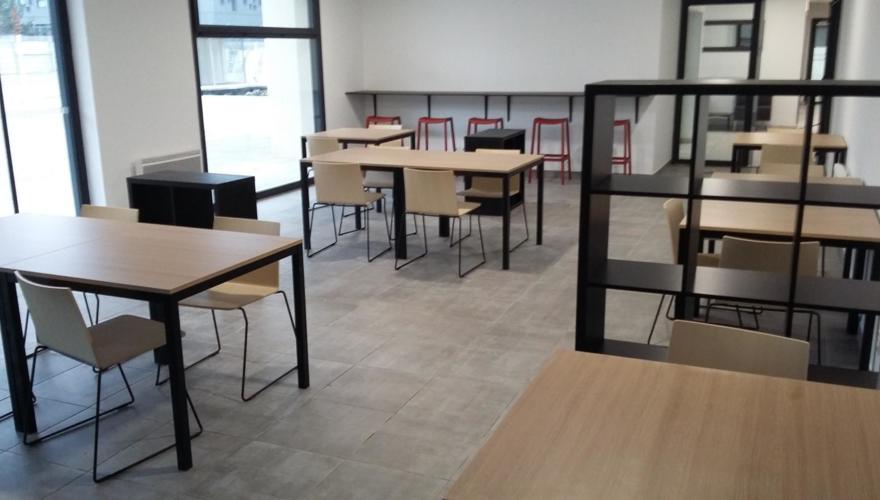 Salle de coworking