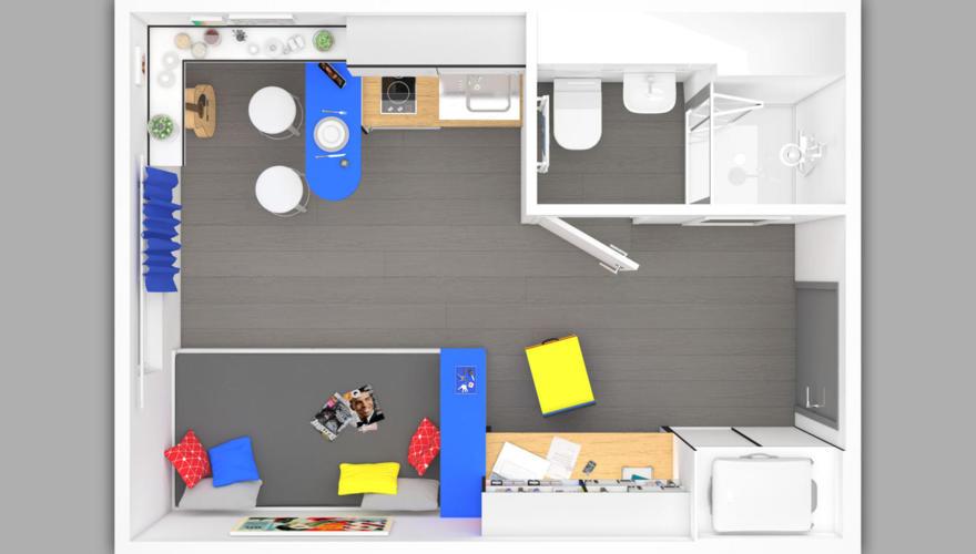 Disposition du logement
