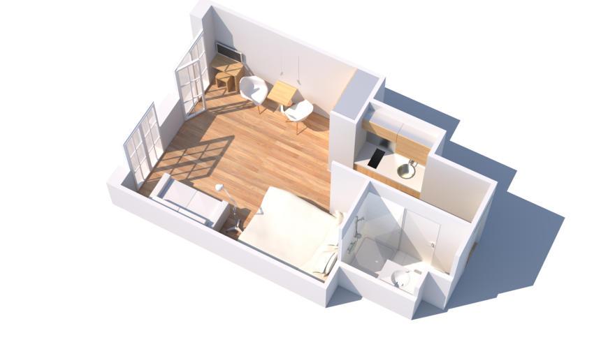 Plan type appartement