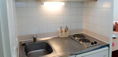 Appartement 1-- Coin cuisine