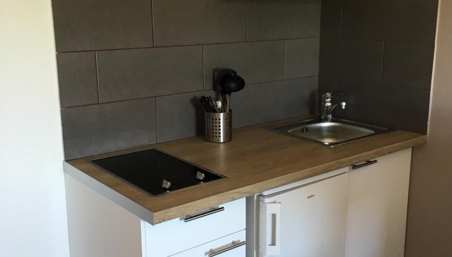 cuisine studio rénové