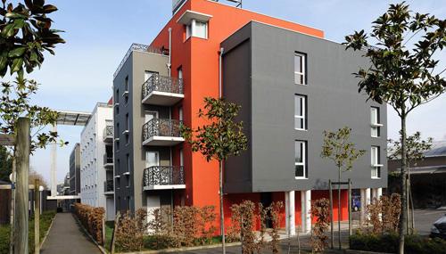 Vue extérieure Estudines Nantes La Beaujoire