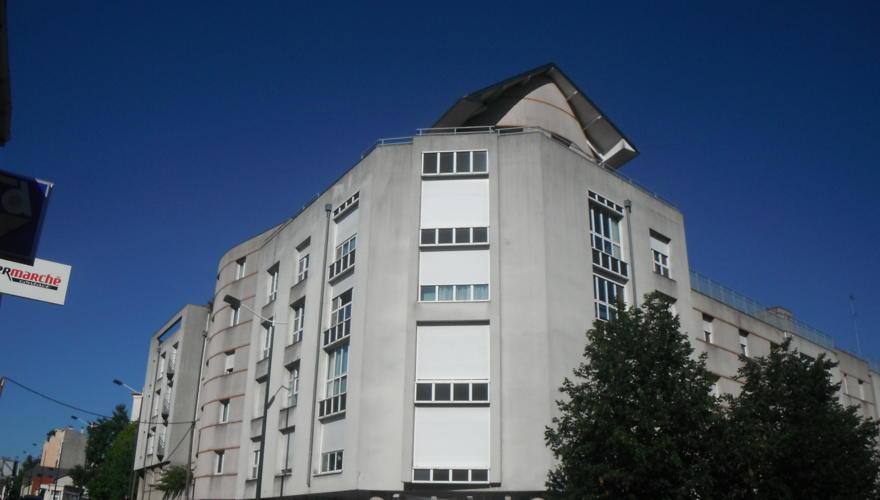 facade de la résidence