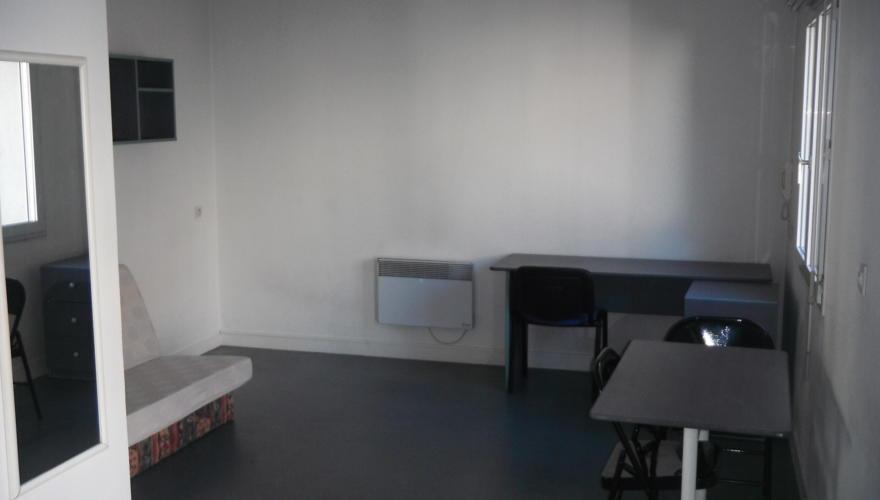 coin chambre studio 18 m2