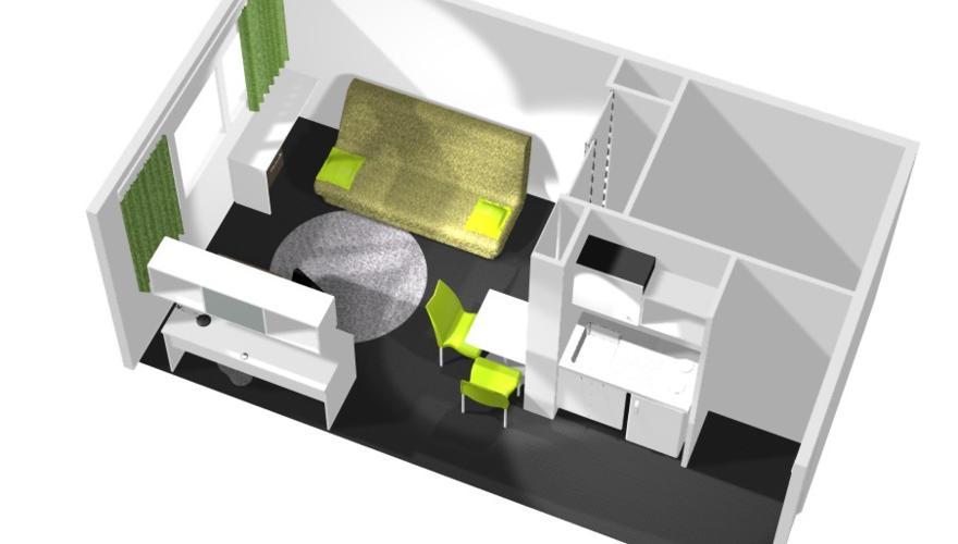 Maquette appartement 2