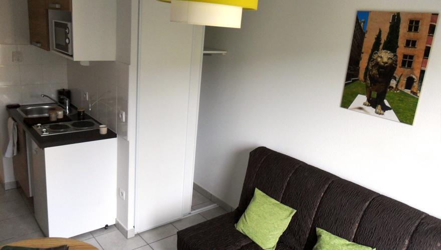 Appartement - Pièce à vivre 3