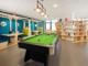 Salle de coworking / Billard